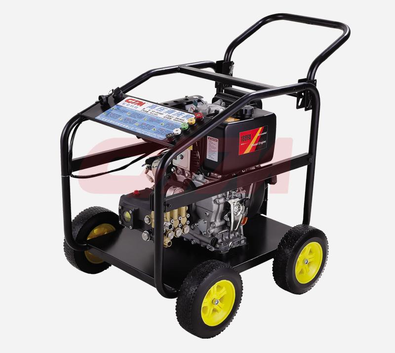 引擎直连式高压清洗机